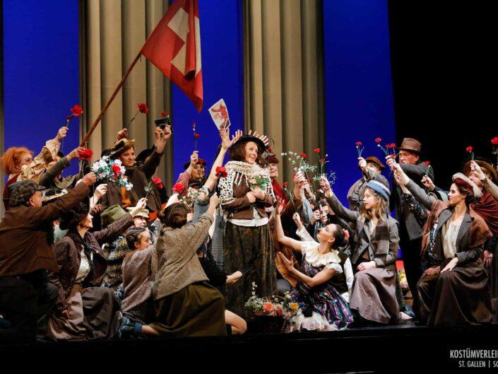 Operette My Fair Lady wurde ausgestattet von Kostümverleih Jäger in St.Gallen