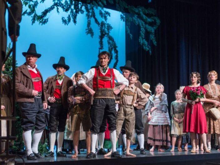 """Operette """"Der Vogelhändler"""" in der Operettenbühne Bremgarten, ausgestattet von Kostümverleih Jäger"""