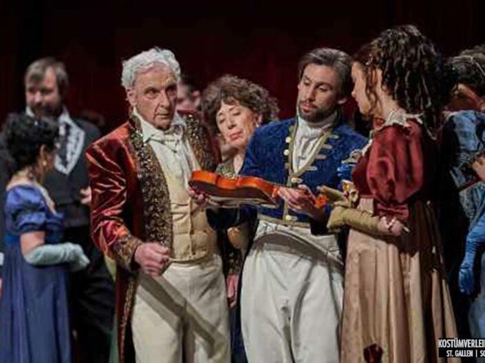 Operette Bremgarten 2019 Paganini | Kostümverleih Jäger St. Gallen